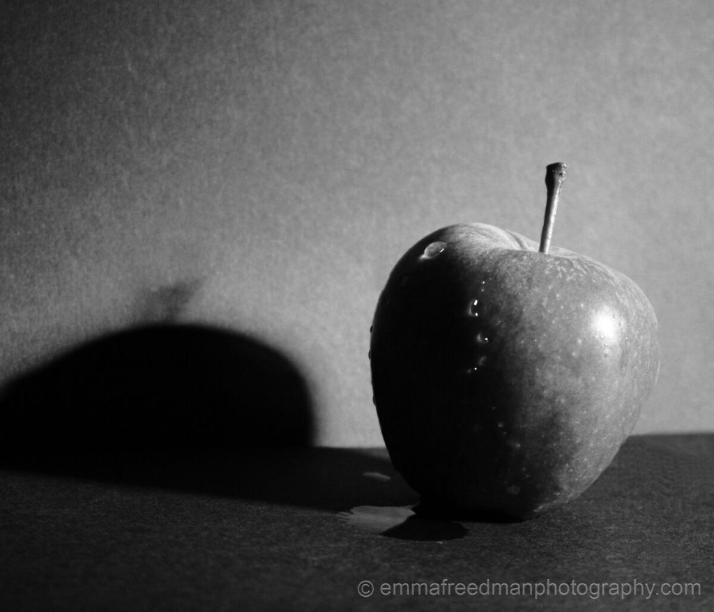Fresh BW apple
