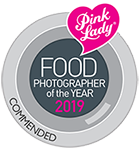 Pink Lady Food Photographer of the Year 2019 Commended award