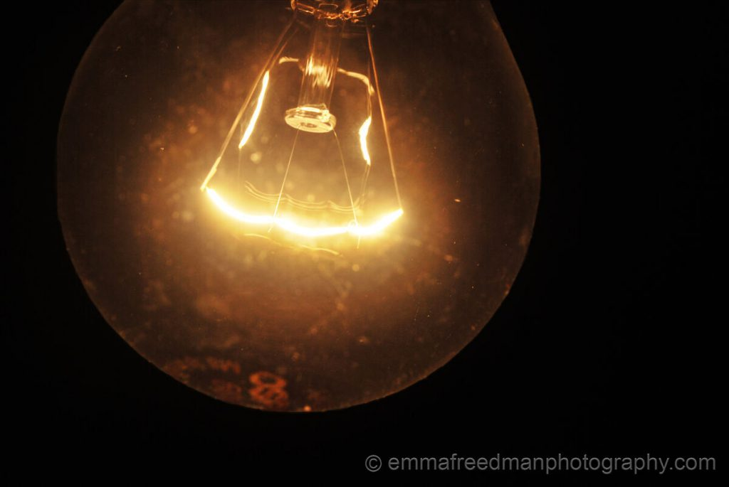 Close lightbulb