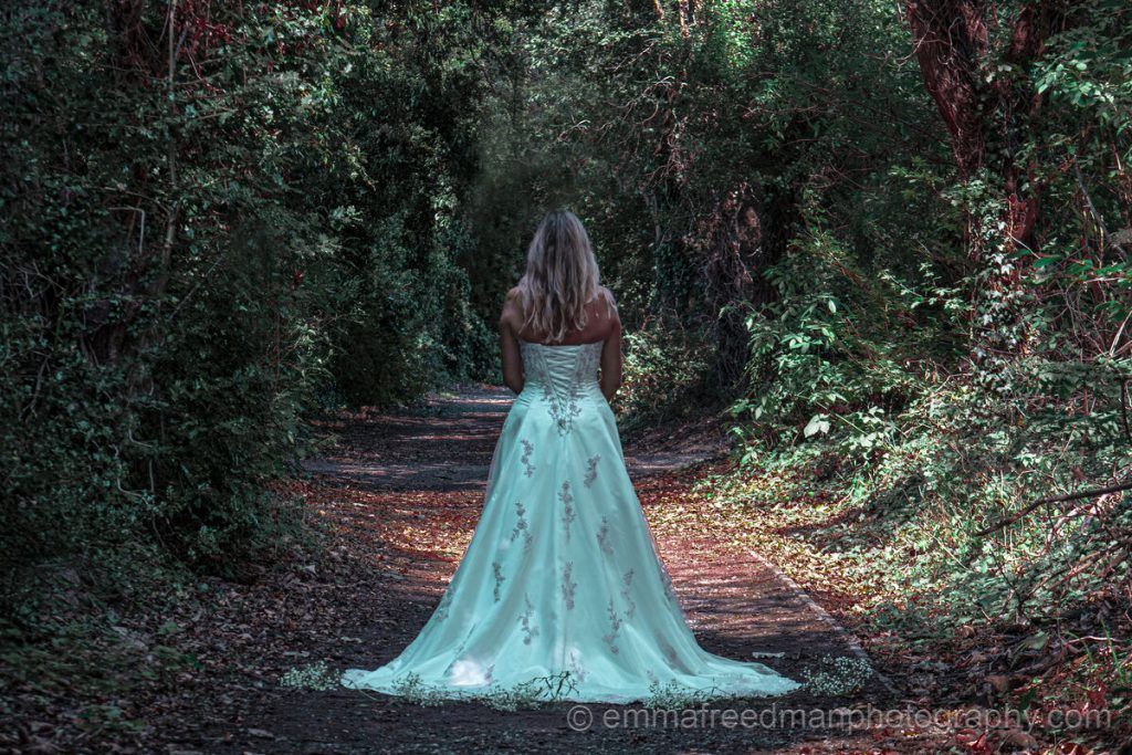 Enchanted blue dress