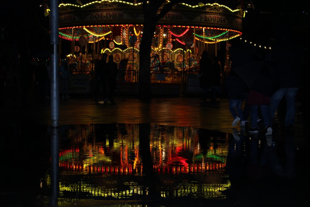 Merry-go-round reflection